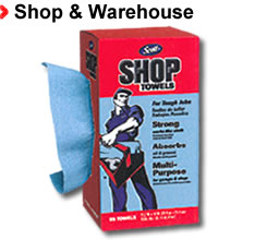 Shop & Warehouse - Supplies, Tools and Equipment